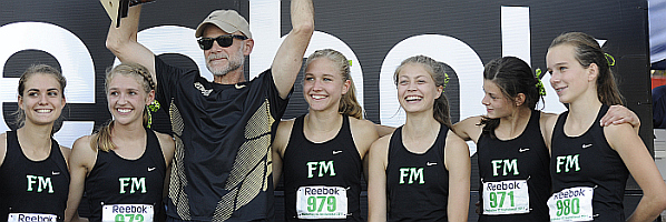 2012 Fayetteville-Manlius Girls Cross Country Team